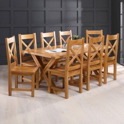 Những bộ bàn ăn gỗ mang phong cách Rustic - Ảnh 9.