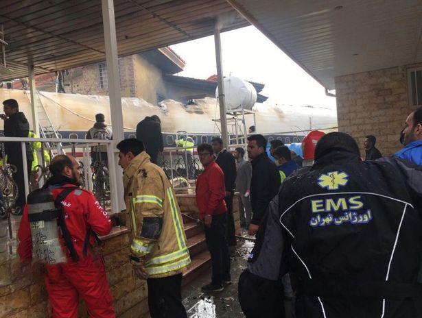 Tai nạn máy bay chở hàng ở Iran, 15 người thiệt mạng - ảnh 2