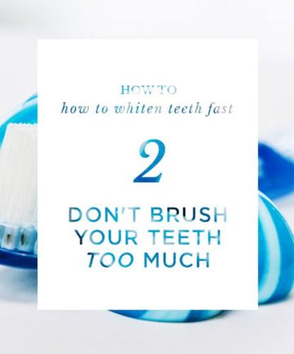 Một số mẹo để nhanh chóng có hàm răng trắng sáng - Ảnh 2.