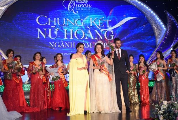 Gặp gỡ nữ giám đốc xinh đẹp người tạo nên cuộc thi Queen Beauty 2019 - Ảnh 1.