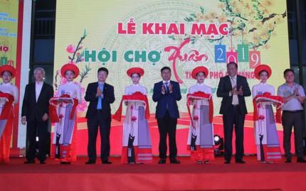 Đà Nẵng khai mạc Hội chợ Xuân 2019 - Ảnh 1.