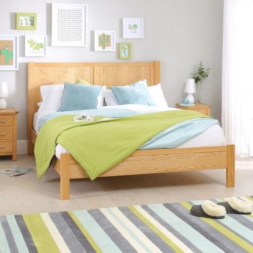 Giường ngủ đơn giản tiết kiệm diện tích - Ảnh 2.