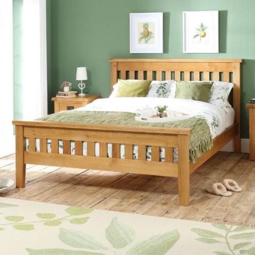 Giường ngủ đơn giản tiết kiệm diện tích - Ảnh 4.