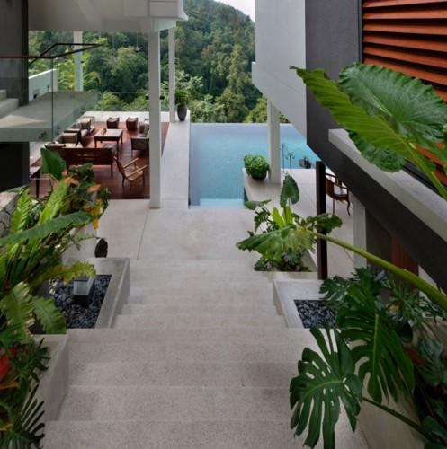 Biệt thự tuyệt đẹp ẩn mình trong rừng nhiệt đới - Ảnh 5.