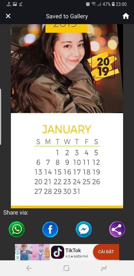 Hướng dẫn tự tạo bộ lịch năm 2019 đẹp mắt từ hình ảnh của chính bạn - Ảnh 5.