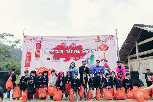 Hoa hậu H'Hen Niê mang Tết sẻ chia đến với trẻ em vùng cao - Ảnh 3.