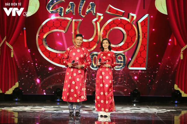 Hoa hậu Đỗ Mỹ Linh lần đầu xuất hiện ở Gala cười 2019 - Ảnh 6.