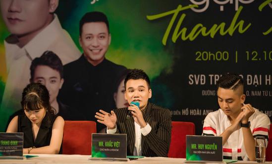 Tuấn Hưng, Đông Nhi, Trấn Thành xuất hiện trong liveshow miễn phí của Khắc Việt - Ảnh 2.