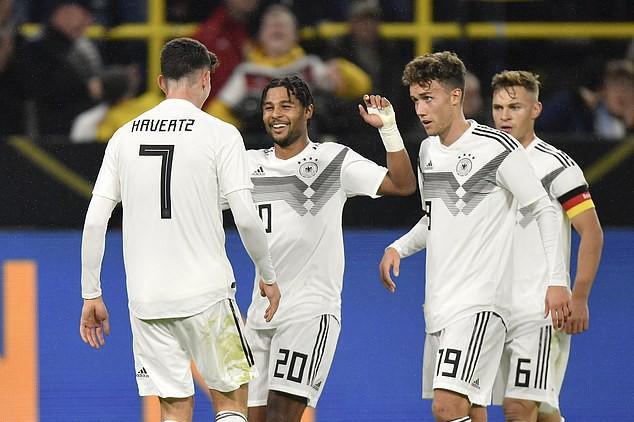 ĐT Đức hòa đáng tiếc trước ĐT Argentina - Ảnh 1.