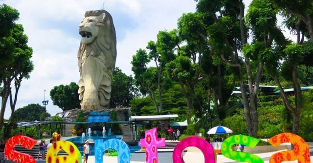 Hé lộ những điều bí mật ít biết về tượng sư tử biển nổi tiếng Singapore - Ảnh 3.