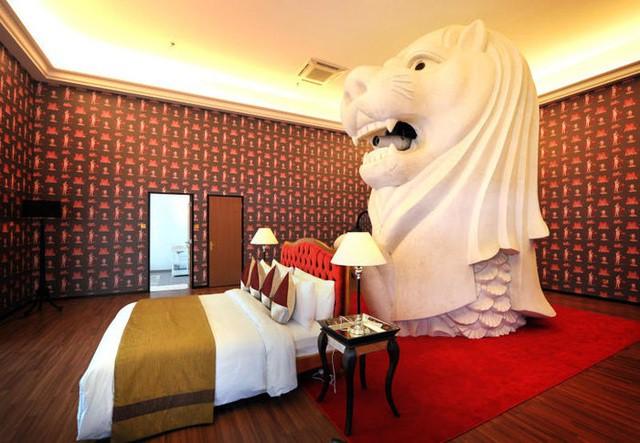 Hé lộ những điều bí mật ít biết về tượng sư tử biển nổi tiếng Singapore - Ảnh 4.