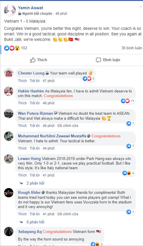 CĐV Malaysia: ĐT Việt Nam hay nhất Đông Nam Á, đá như Inter của Mourinho! - Ảnh 3.