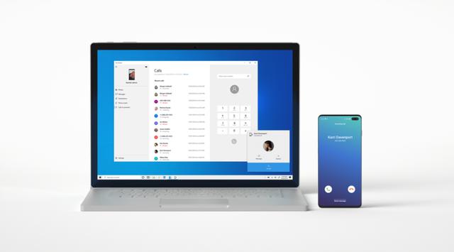 Máy tính Windows 10 có thể thực hiện cuộc gọi mà không cần dùng SIM - Ảnh 1.