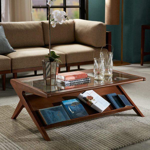 Mẫu bàn phòng khách đẹp và tiện dụng - Ảnh 6.