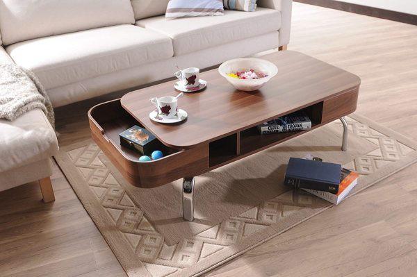 Mẫu bàn phòng khách đẹp và tiện dụng - Ảnh 9.