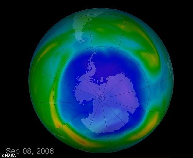Lỗ thủng tầng ozone thu lại nhỏ nhất từ năm 1982 đến nay - Ảnh 4.