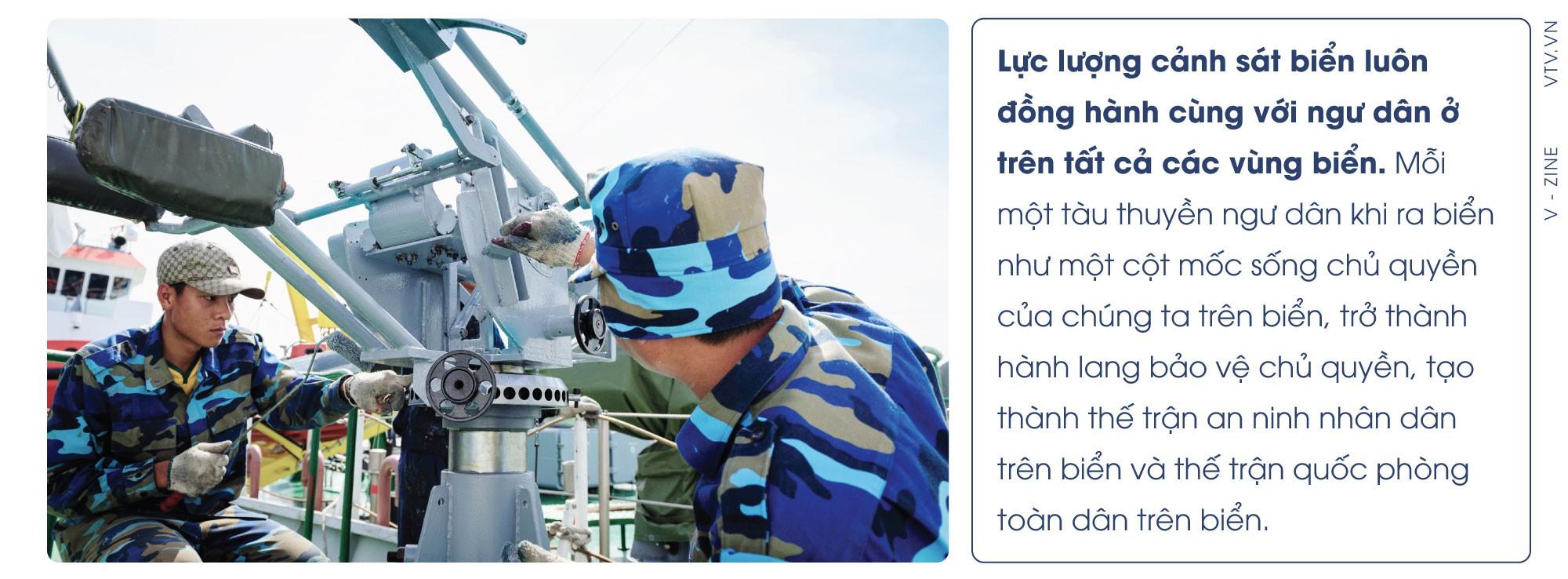Cảnh sát biển Việt Nam: Bảo vệ chủ quyền với những cột mốc sống - Ảnh 16.