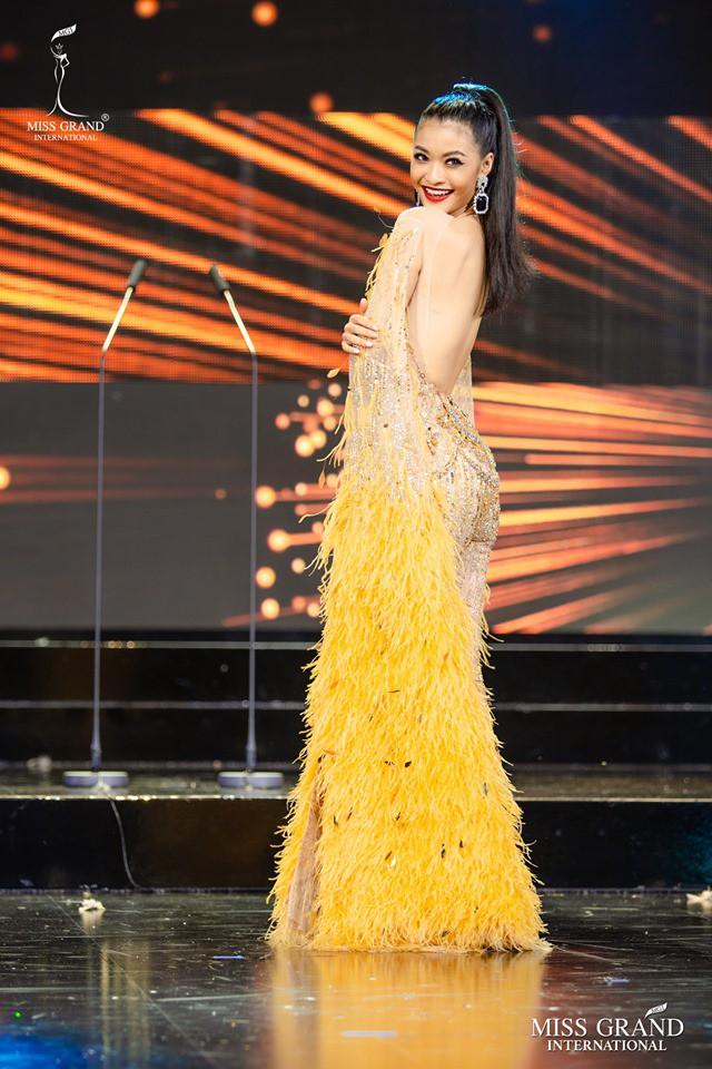 Kiều Loan diện jumpsuit, bikini trình diễn trong đêm Bán kết Miss Grand International 2019 - Ảnh 3.