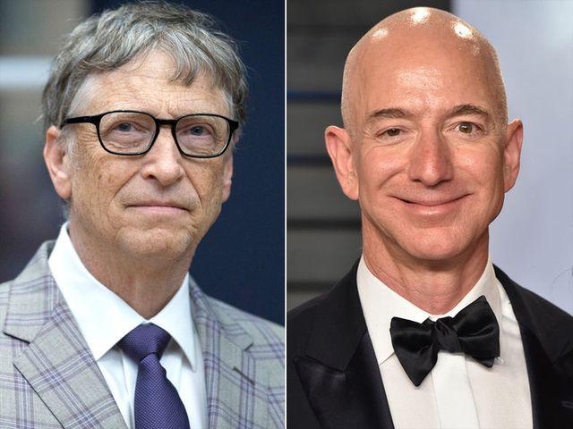 """Gay cấn cuộc đua giành ngôi """"người giàu nhất thế giới"""" giữa ông chủ Amazon và Bill Gates - Ảnh 1."""