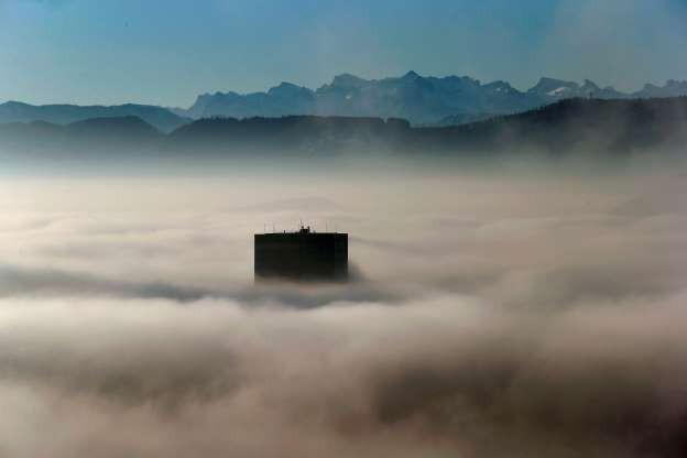 Vẻ đẹp của các thành phố trên thế giới khi chìm trong sương sớm - Ảnh 1.