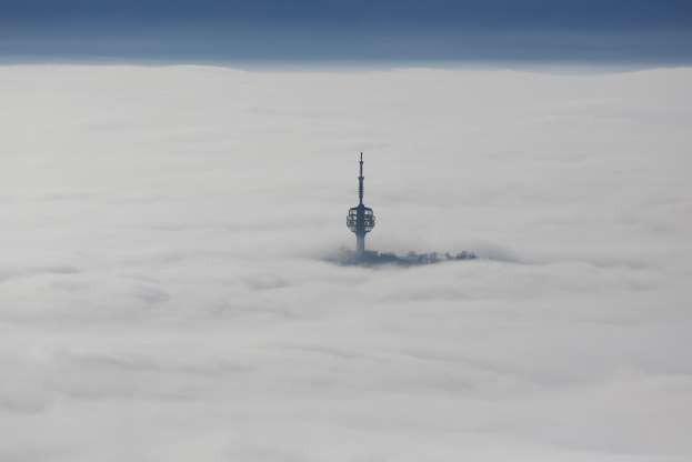 Vẻ đẹp của các thành phố trên thế giới khi chìm trong sương sớm - Ảnh 2.