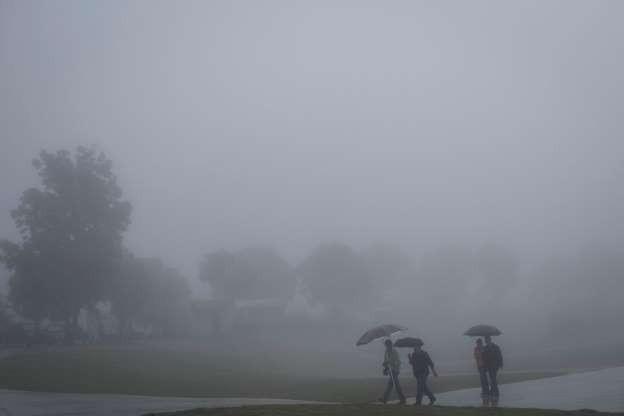 Vẻ đẹp của các thành phố trên thế giới khi chìm trong sương sớm - Ảnh 11.