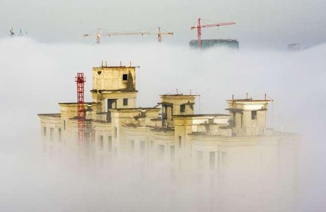 Vẻ đẹp của các thành phố trên thế giới khi chìm trong sương sớm - ảnh 3