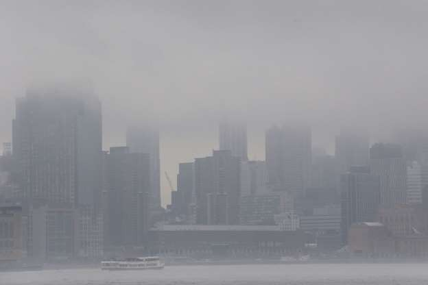 Vẻ đẹp của các thành phố trên thế giới khi chìm trong sương sớm - ảnh 10