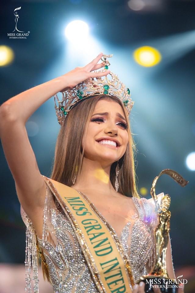 Người đẹp Venezuela đăng quang Hoa hậu Hòa bình thế giới 2019 - Ảnh 3.