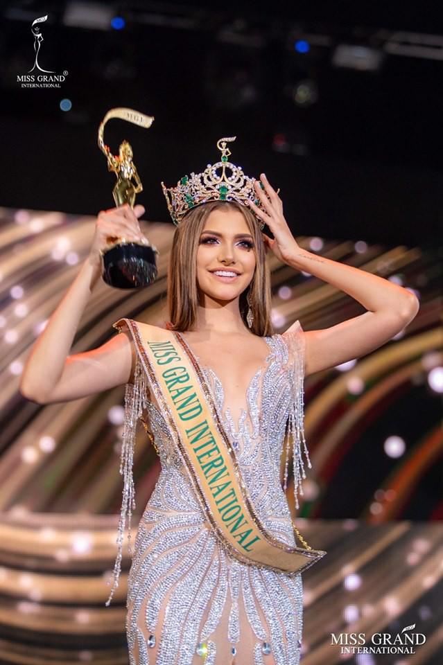 Người đẹp Venezuela đăng quang Hoa hậu Hòa bình thế giới 2019 - Ảnh 2.