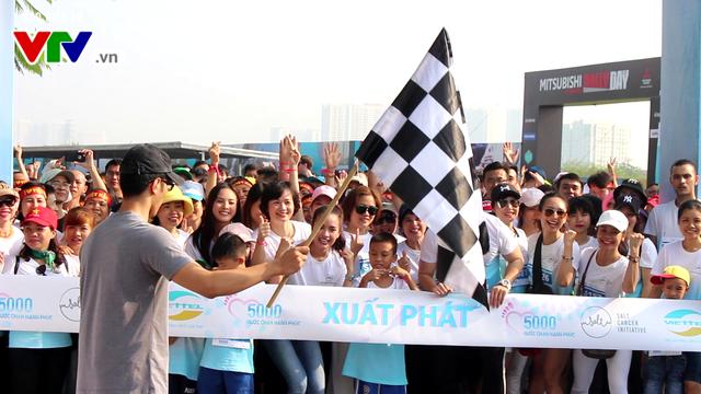 Ngày hội đi bộ vì bệnh nhân ung thư Việt Nam - Ảnh 1.