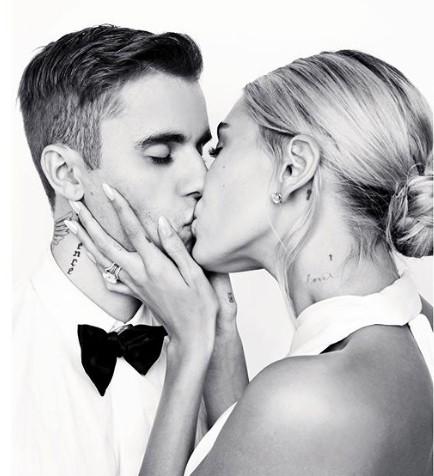 Ảnh cưới của Justin Bieber - Hailey Baldwin gây choáng ngợp - Ảnh 5.