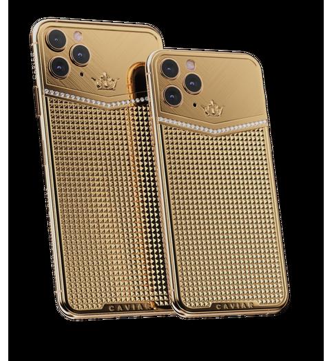 iPhone 11 Pro độ thêm vàng và kim cương, được bán với giá gần 1 tỷ đồng - Ảnh 4.