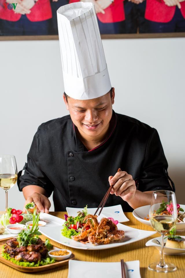 Chef Le Ngoc Quyen (Photo: VOV)