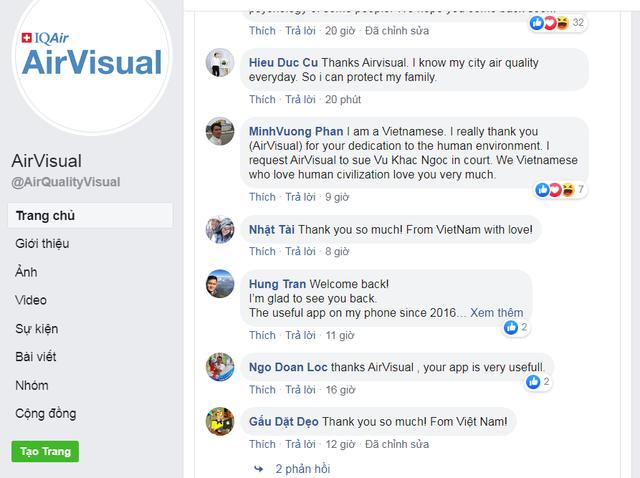 AirVisual bất ngờ mở lại ứng dụng tại Việt Nam - Ảnh 2.