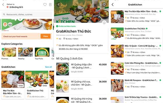 Grab ra mắt GrabKitchen: Cho đặt cùng lúc các món ăn từ nhiều thương hiệu - Ảnh 1.