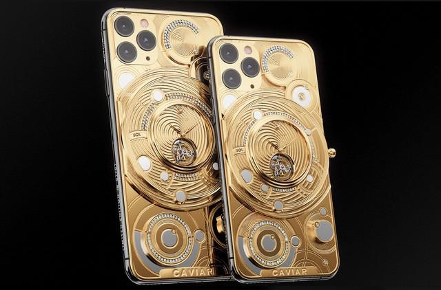 iPhone 11 Pro độ nửa kg vàng, 137 viên kim cương có giá gần 2 tỷ đồng - ảnh 1