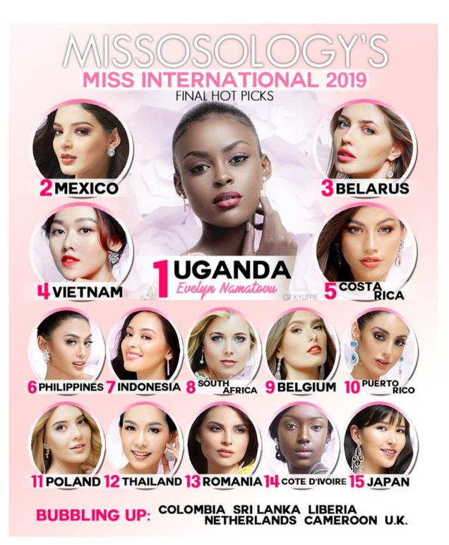 Chung kết Miss International 2019: Tường San được dự đoán đăng quang Á hậu trước giờ G - Ảnh 2.