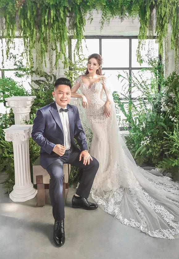 Bảo Thy khoe vẻ đẹp ngọt ngào trong bộ ảnh cưới - Ảnh 6.