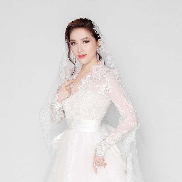 Bảo Thy khoe vẻ đẹp ngọt ngào trong bộ ảnh cưới - Ảnh 4.