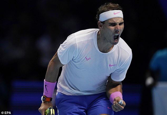 ATP Finals 2019: Nadal ngược dòng nghẹt thở hạ Tsitsipas - Ảnh 4.
