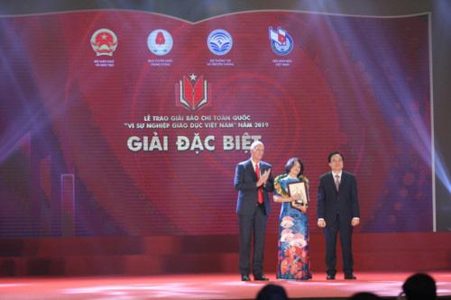 Báo điện tử VTV News giành giải Ba giải Báo chí toàn quốc Vì sự nghiệp giáo dục Việt Nam - Ảnh 3.