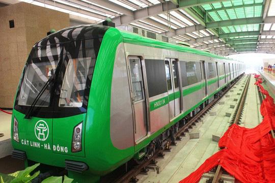 Đường sắt Cát Linh - Hà Đông có thể vận hành từ cuối tháng 12 - Ảnh 1.