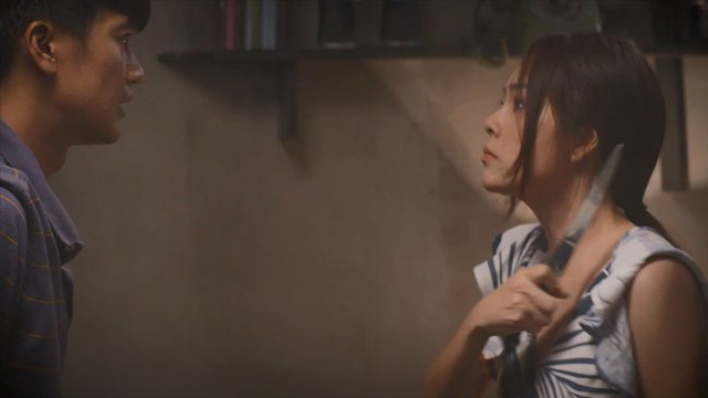 Tiệm ăn dì ghẻ - Tập 2: Muốn hàn gắn với vợ cũ, Minh (Quang Tuấn) sững sờ khi thấy Ngọc (Dương Cẩm Lynh) dọa chết - Ảnh 5.