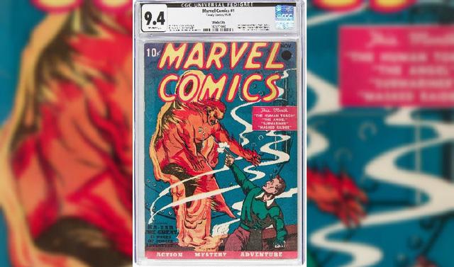 Chi 1,26 triệu USD để sở hữu cuốn truyện tranh đầu tiên của Marvel - Ảnh 1.