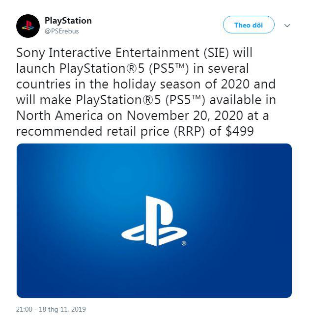 Máy chơi game PS5 có thể đắt hơn phiên bản cũ 100 USD - Ảnh 1.