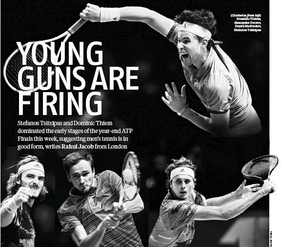 Bộ tứ siêu đẳng thách thức Big Three Federer, Nadal và Djokovic - Ảnh 1.