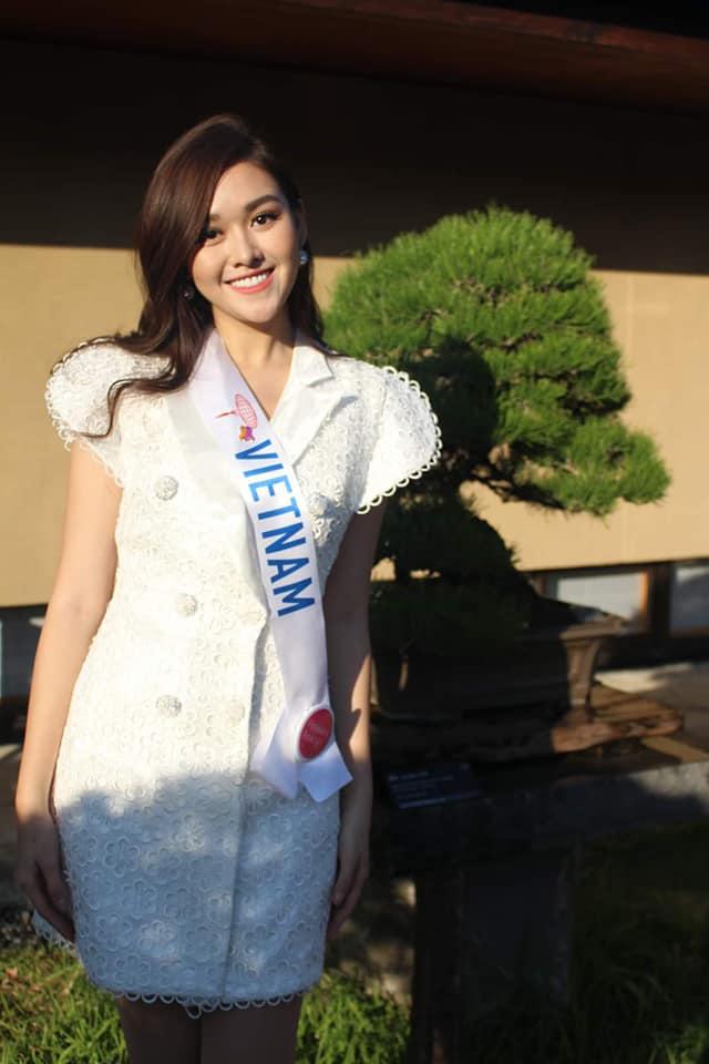 """Tường San nhảy """"Để Mị nói cho mà nghe khoe tài năng tại Miss International 2019 - Ảnh 4."""