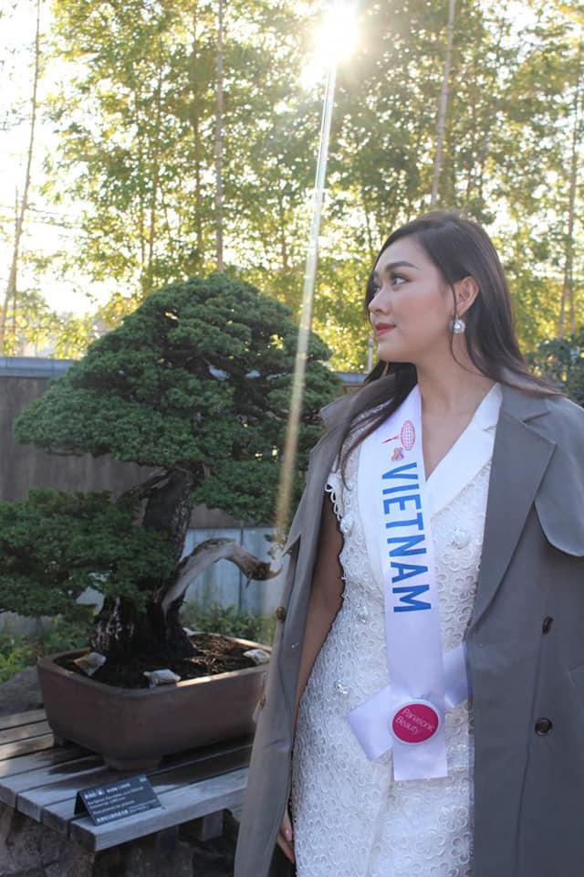 """Tường San nhảy """"Để Mị nói cho mà nghe khoe tài năng tại Miss International 2019 - Ảnh 5."""