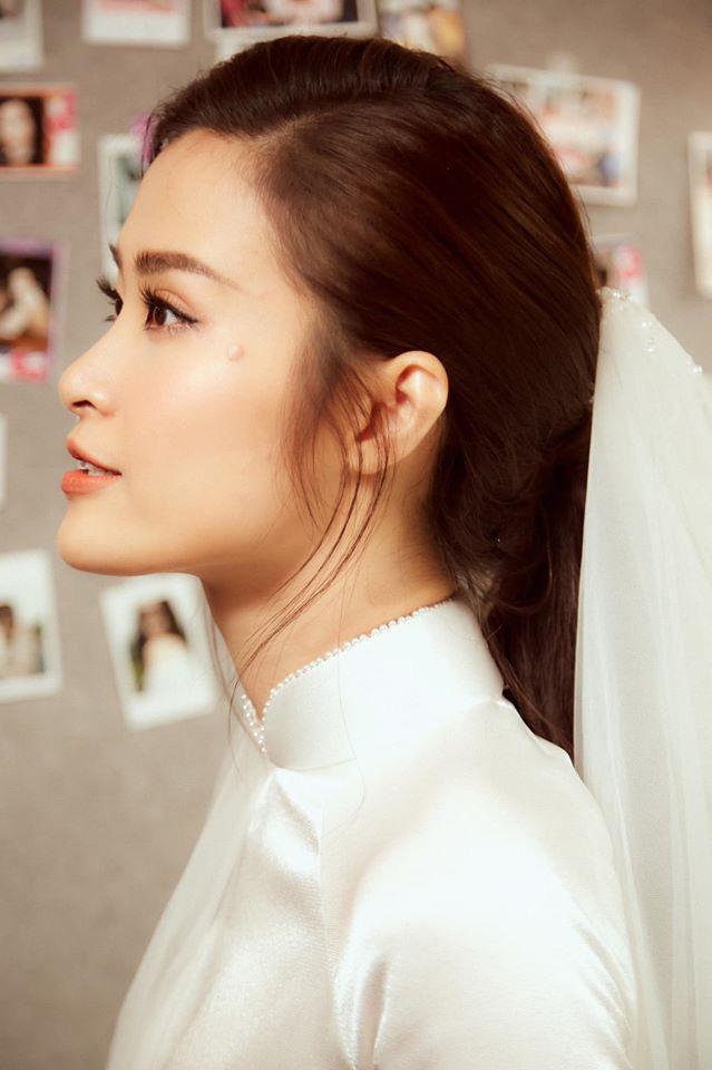 Diện áo dài giản dị, Đông Nhi đẹp xuất thần trong lễ rước dâu - Ảnh 8.